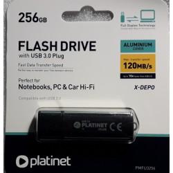 FLASH DRIVE PLATINET 256GB